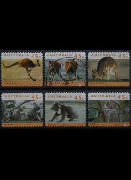 Australija, ScNr 1274-1279 Used(O)