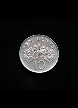 Singapūras, 10 centų 2003m