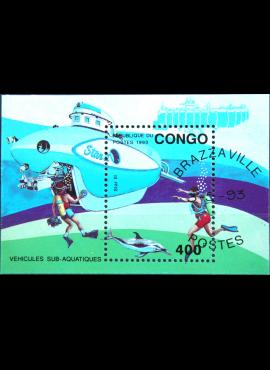 Kongas, blokas ScNr 1026 Used(O)
