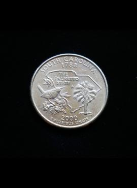 JAV, 25 centai 2000m-P