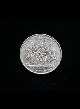 JAV, 25 centai 1999m-D