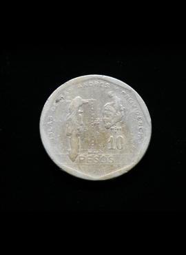 Kolumbija, 10 pesų 1981m