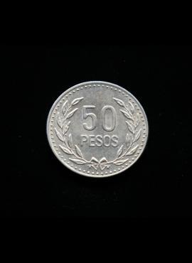 Kolumbija, 50 pesų 1990m