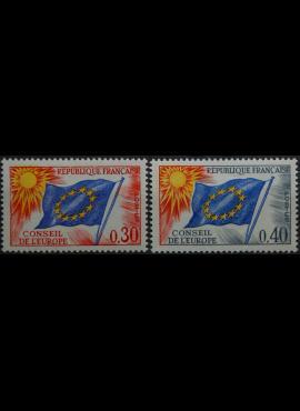 Prancūzija, Europos Taryba ScNr 1O11-1O12 MNH**
