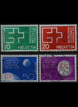 Šveicarija, pilna serija ScNr 430-433 Used(O)