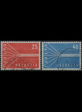Šveicarija, pilna serija ScNr 363-364 Used(O)