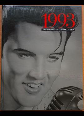 JAV 1993 m. pašto ženklų rinkinio knyga