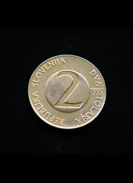 Slovėnija, 2 tolarai 1997m