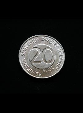Slovėnija, 20 tolarų 2004m