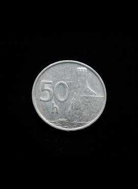 Slovakija, 50 helerių 1993m