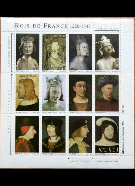 Suvenyriniai ženklai, Prancūzijos karaliai G