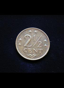 Nyderlandų Antilai, 2 1/2 cento 1971m