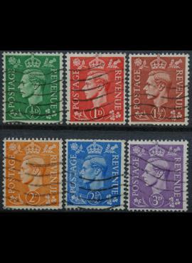 Didžioji Britanija, pilna serija ScNr 258-263 Used(O)