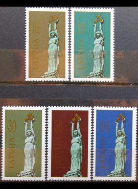 Latvija MiNr 317, 319-322 MNH** K