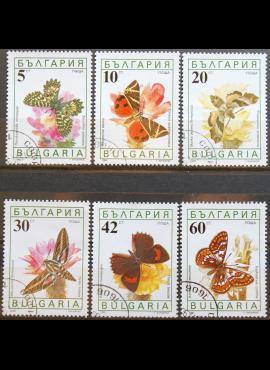 Bulgarija, pilna serija ScNr 3551-3556 Used(O) K