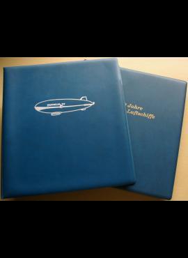 Du albumai su filateline medžiaga skirta Grafo Cepelino dirižabliams (100-čiui paminėti)