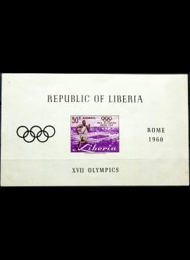Liberija, blokas ScNr C127 MLH*