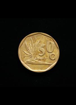 Pietų Afrika, 50 centų 1992m