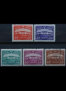 Indonezija, pilna serija ScNr 377-381 MNH**/Used(O)