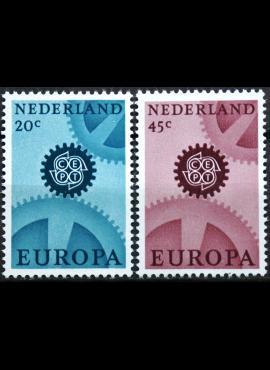 Nyderlandai, pilna serija ScNr 444-445 MNH**