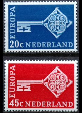 Nyderlandai, pilna serija ScNr 452-453 MNH**