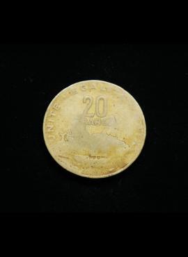 Džibutis, 20 frankų 1983m