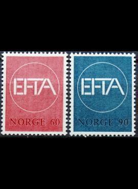Norvegija, pilna serija, MiNr 551-552 MNH**