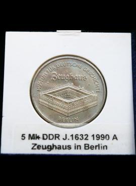 Vokietijos Demokratinė Respublika, 5 markės, 1990m-A