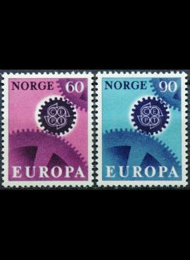 Norvegija, pilna serija, MiNr 555-556 MNH**