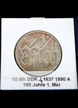 Vokietijos Demokratinė Respublika, 10 markių, 1990m-A