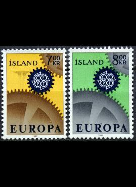 Islandija, pilna serija ScNr 384-385 MNH**