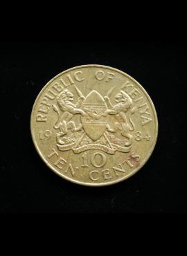 Kenija, 10 centų 1984m