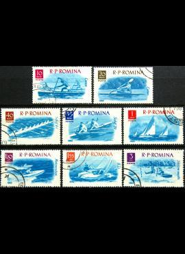 Rumunija, pilna serija ScNr 1478-1485 Used(O)