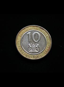 Kenija, 10 šilingų 2010m