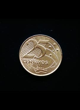 Brazilija, 25 sentavai 2001m