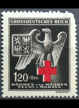 Vokietijos Reichas, Čekijos okupacija, MiNr 132 MH*