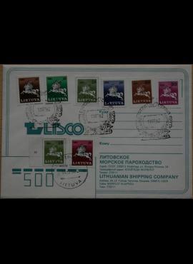 Lietuva, LISCO kompanijos vokas G