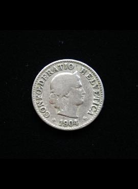 Šveicarija, 5 rapenai 1904m