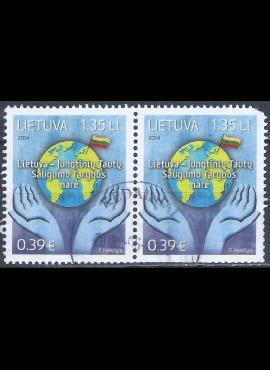 Lietuva, pora MiNr 1165 Used(O)