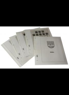 Memel, iliustruoti albumo lapai LINDNER 108