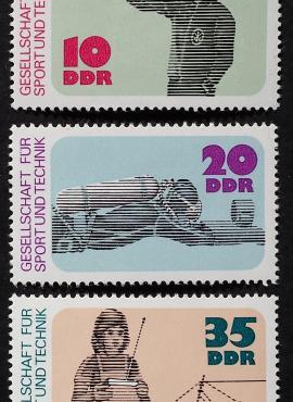 Vokietijos Demokratinė Respublika (VDR), pilna serija MiNr 2220-2222 MNH**