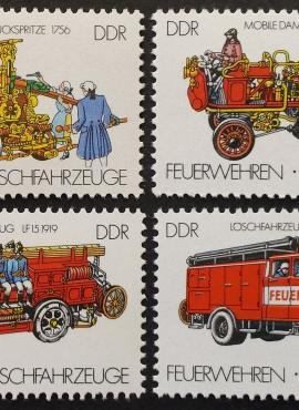 Vokietijos Demokratinė Respublika (VDR), pilna serija, MiNr 3101-3104 MNH**