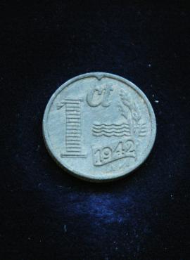 Nyderlandai, 1 centas 1942m